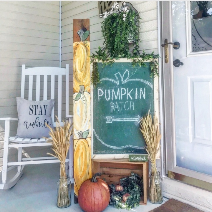 DIY Fall Wood Sign from Scrap Wood