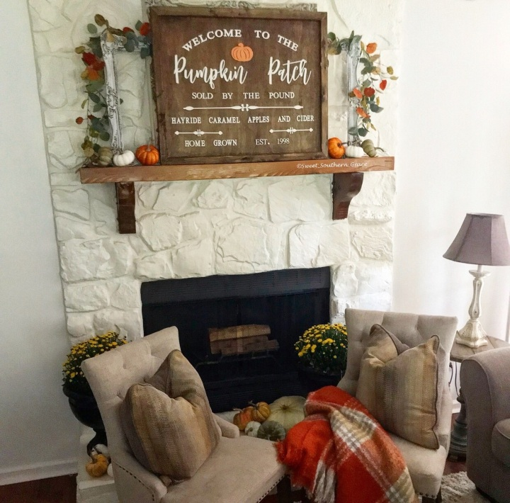 It's All About The Fall Vibes-Fall Home Tour 2019